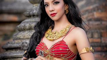 Pradeepta being Vajrayogini for Miss Universe 2019