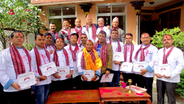 Khadga Bikram Lama elected as president of Chefs Association of Nepal