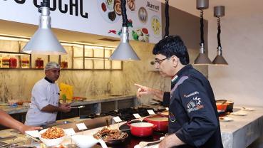 Flavors of Kashmir at Hotel Aloft
