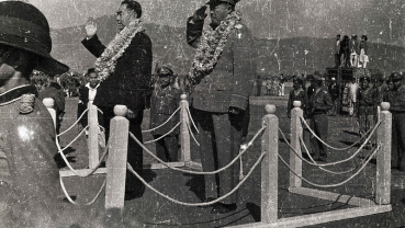 Nostalgia: Then Chinese Prime Minister Zhou Enlai receiving a guard of honor during his Nepal visit