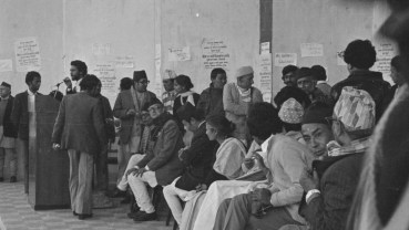 Nostalgia: Activists of Nepali Congress in 1980's