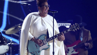 Brittany Howard looks past and forward ahead of the Grammys