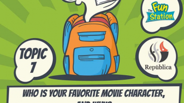 Republica Daily Contest Topic 7: Who is your favorite movie character and why?