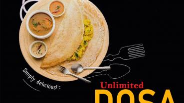 Dosa festival at Shambala Garden Restaurant