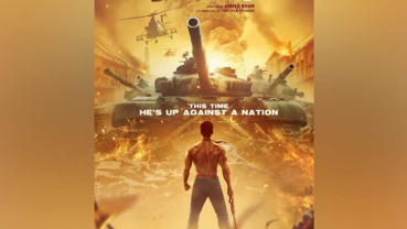 Tiger Shroff unveils poster of 'Baaghi 3'