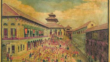 Nostalgia : Basantapur Durbar Square some 150 years ago