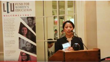 Nepali Podcaster Dipika Shrestha receives Leadership Award in New York