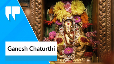 Ganesh Chaturthi being observed