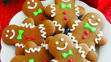 Gingerbread cookies to bring in the Christmas spirit
