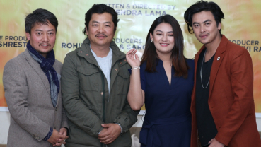 Actor director duo Dayahang and Dipendra geared up for '2 Numbari'