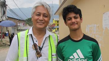 A day when I met captain Vijay Lama