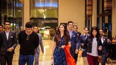 Bollywood actress Daisy Shah in Nepal
