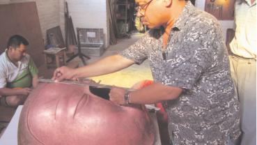 Traditional artist Rajkumar Shakya no more
