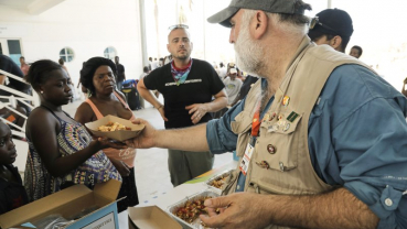 When disaster strikes, Chef Jose Andres is on the ground