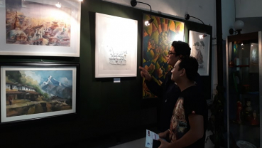 Art exhibition enhances Nepal-Russia friendship