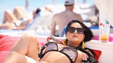Barsha Siwakoti's bold avatar in Greece