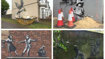 'A Great British Spraycation': Banksy's new seaside murals