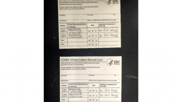 Fake COVID-19 vaccination cards worry college officials