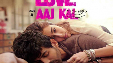 Sara Ali Khan, Kartik Aaryan share first look of 'Love Aaj Kal'