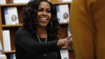 Michelle Obama signs 'Becoming' copies on book's anniversary