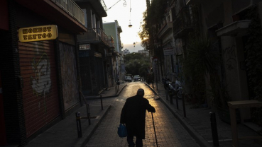 No cafes, no tourists: Virus empties streets of old Athens