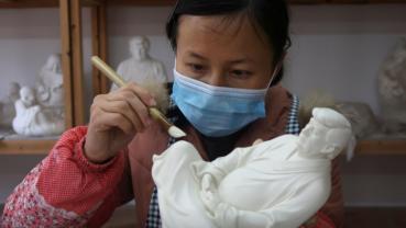 Be at peace, meditate, Trump Buddha statue designer tells former president