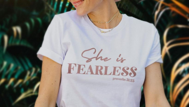 She is fearless