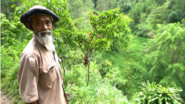 Once called crazy, Indonesian eco-warrior turns arid hills green