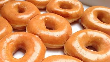 Recipe of crispy and creamy doughnuts