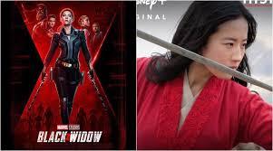 'Black Widow', 'Mulan' get new release date