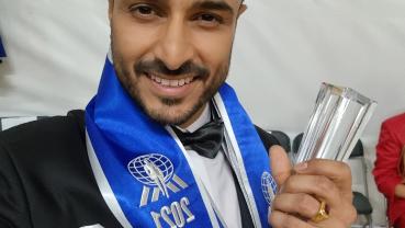 Dr Santosh Upadhyaya secured 3rd runner-up title at Mister Supranational 2021