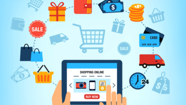 The growth of E-commerce