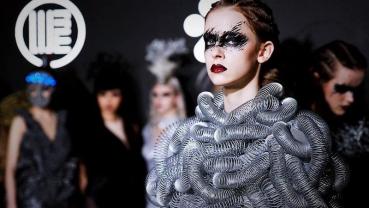 Lights! Models! Garbage! Taiwan designer turns waste into fashion