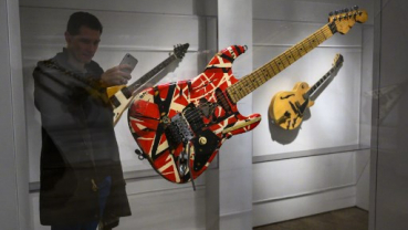 Rock legend memorabilia in 'A Century of Music' up for auction