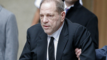 Weinstein back in hospital due to 'chest pains' post 23-yr sentence