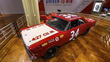 Henry Ford Museum's new exhibit celebrates motorsports