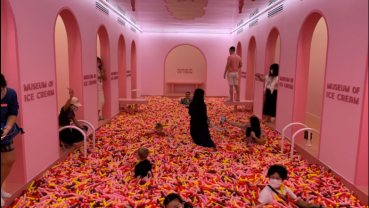 Singapore gets sweet pandemic distraction as Museum of Ice Cream opens