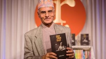 Poet and lyricist Kali Prasad Rijal's biopic launches