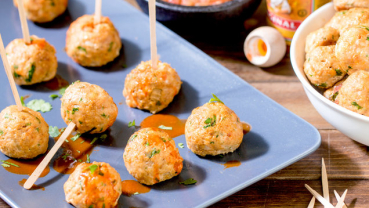 Mini Mexican Chicken Meatballs: Recipe