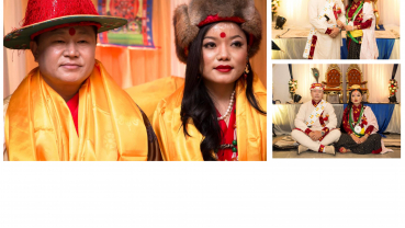 Chief Minister of Province 1 Sherdhan Rai gets married