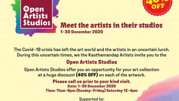 "KAG all set for ""Open Artist Studios"""