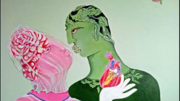 Ragini's 64th solo virtual exhibition concludes
