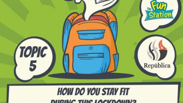 Republica Daily Contest Topic 5- How do you stay fit during lockdown?
