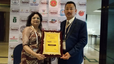 Best international school in Nepal in Asian Leadership Awards 2019
