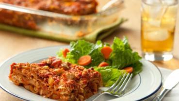 Tofu Lasagna: recipe