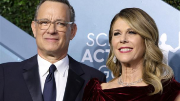 Tom Hanks, Rita Wilson discharged from hospital, says couple's son Chet