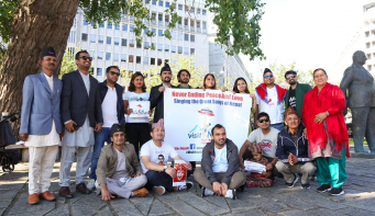 Visit Nepal promotion in Oslo