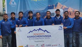 Giripremi team all set to scale Nepal's eight highest mountains