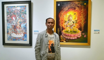 Art is like drug for me: Shankar Shrestha