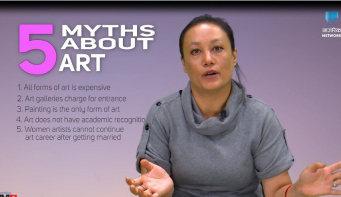 Myth Busters: There are several forms of art